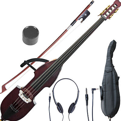 Cecilio Size 3/4 Electric Silent Upright Double - Electric Double Bass