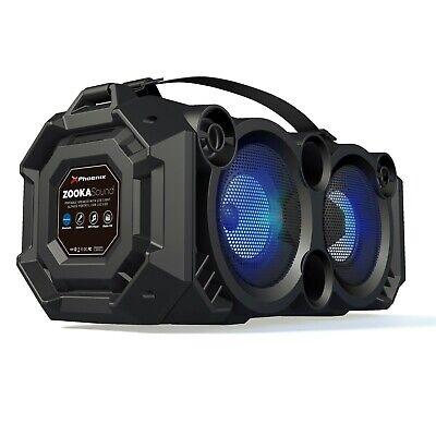 ALTAVOZ BLUETOOTH 24W CON LUZ LED RADIO FM USB MICROSD AUXIN