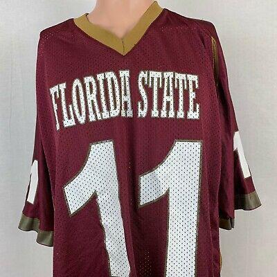 Florida State Seminoles College Football Replica Jersey Vintage 90s NCAA Size M