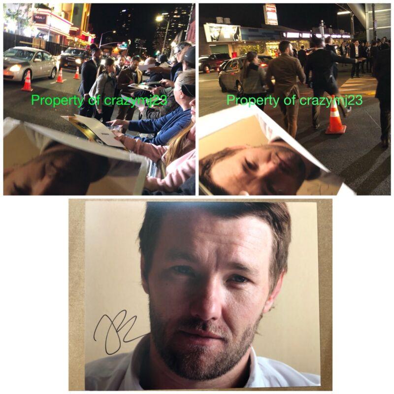 Joel Edgerton Signed Gringo Warrior Loving Bright Star Wars Owen Lars Autograph