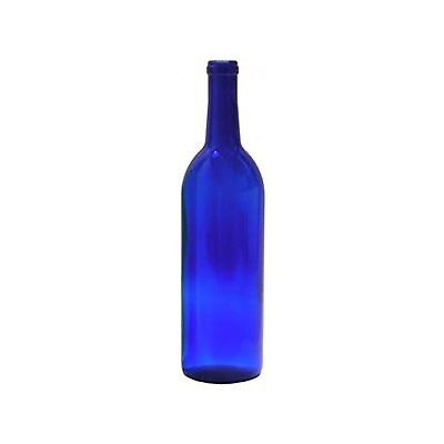 Midwest Homebrewing and Winemaking Supplies 750 ml Cobalt Glass Claret/Bordea...