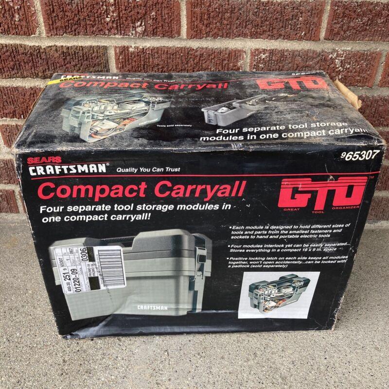 Sears Craftsman Compact Caryall Tool Box Storage Organizer 965307