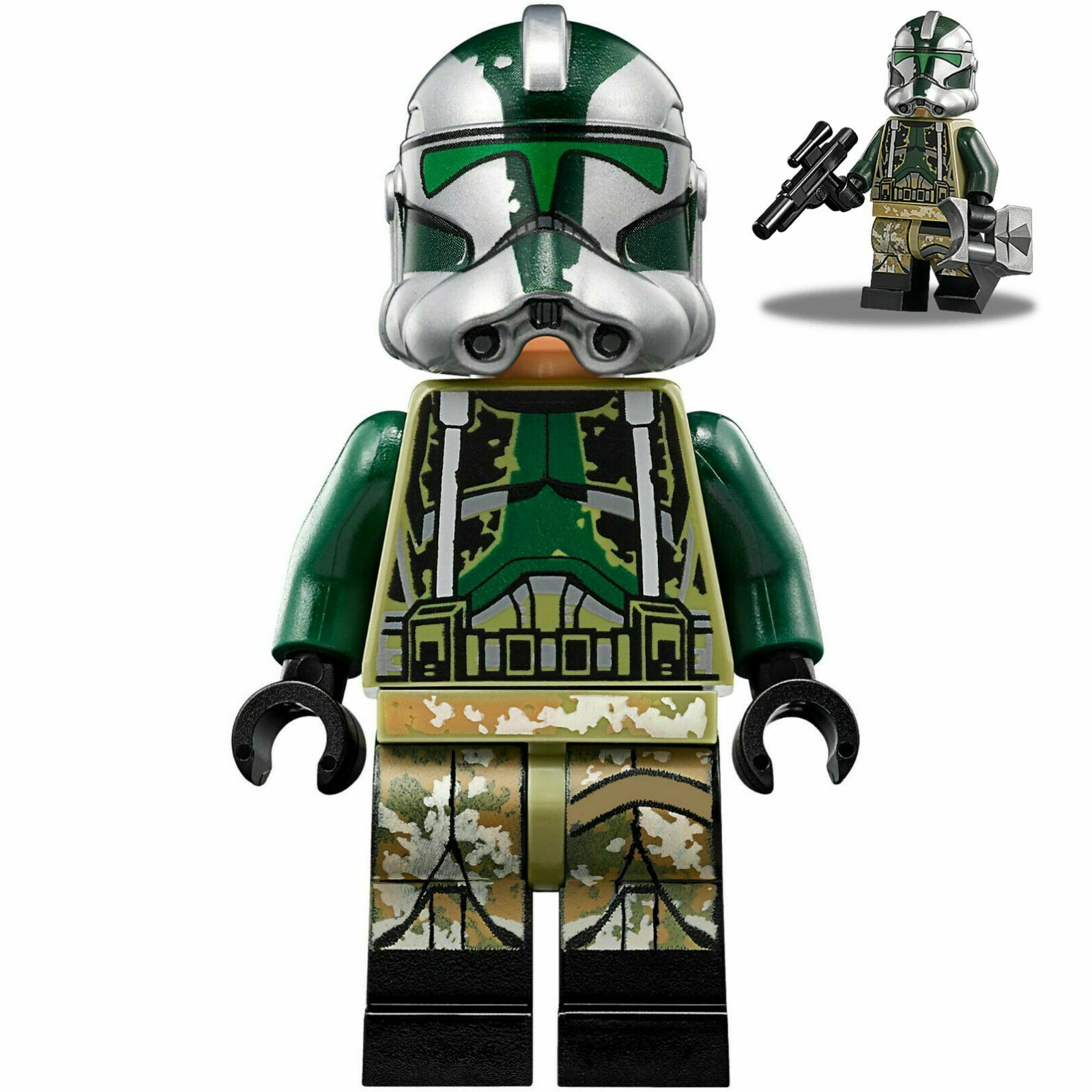 Blaster Gear 75234 NEW Kashyyyk LEGO Clone Commander Gree Star Wars Minifigure