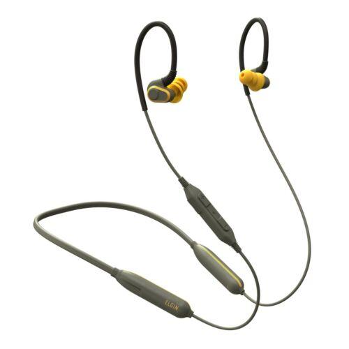 Elgin Rumble Bluetooth Earplug Earbuds, 27 dB NRR, 20 Hour Battery, Waterproof
