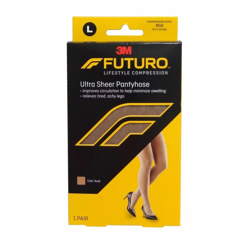 Futuro Mild Compression Ultra Sheer Support Pantyhose, Large, 1 Pair Each, By 3M