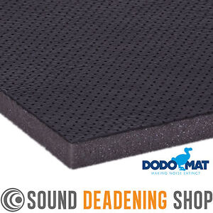 dodo mat pro acoustic liner sound proofing black car bonnet roof panel ebay. Black Bedroom Furniture Sets. Home Design Ideas