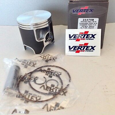 Vertex Piston Ring Kit 71.95 mm KTM 300 EXC XC XC-W Husqvarna TE300 TE (Vertex Piston)