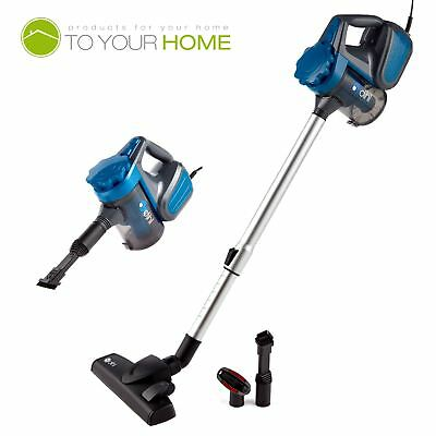 Dihl 2-in-1 Vacuum Cleaner Blue 600W Hand Held Upright Stick Bagless Corded Vac