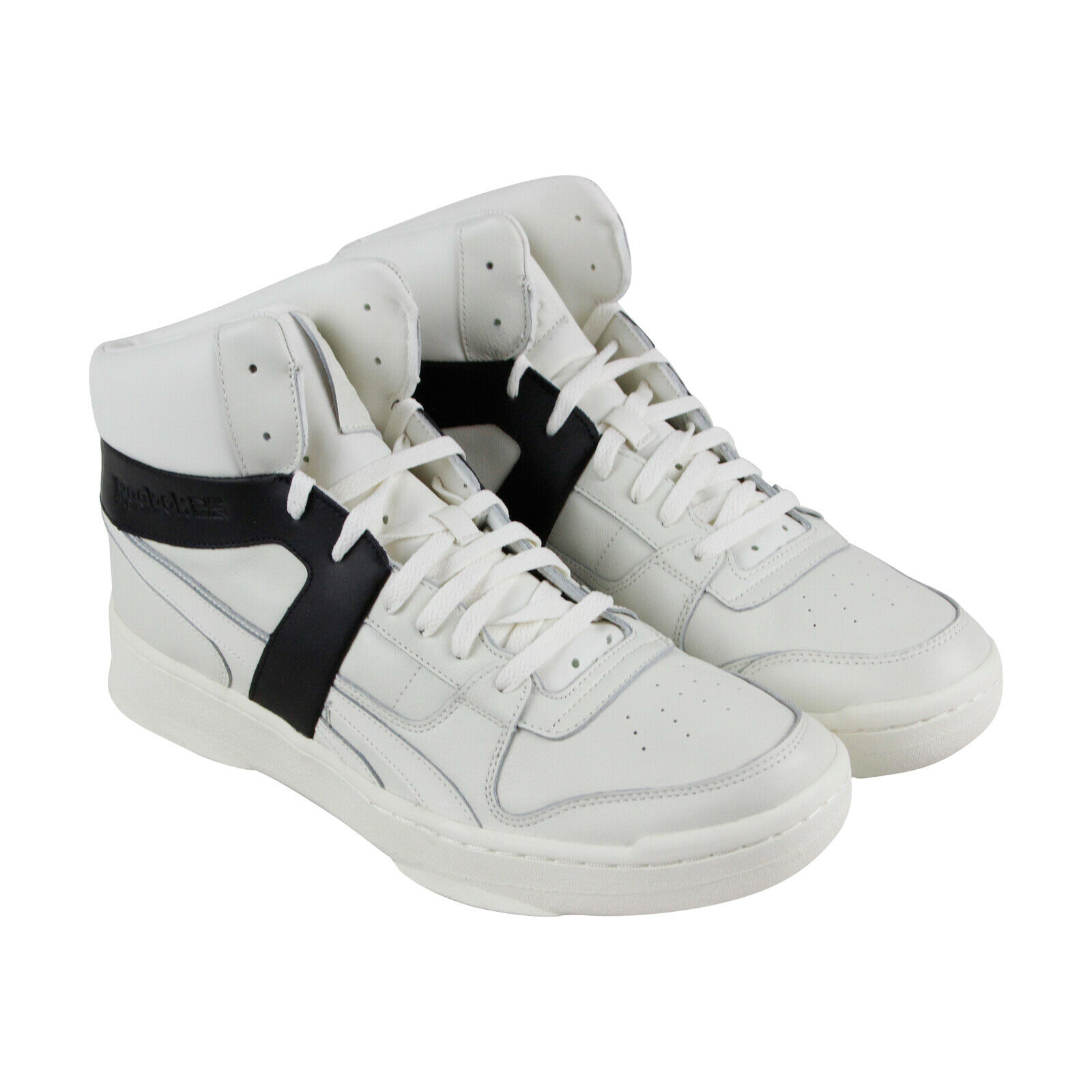 Reebok Bb 5600 Premium CN1984 Mens White Leather Casual High Top Sneakers Shoes