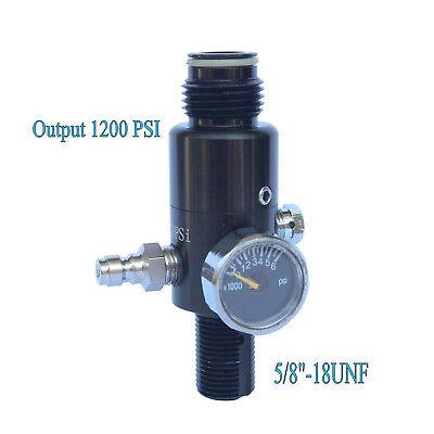 (HPA Paintball 4500psi Air Tank Regulator Output Pressure 1200psi )