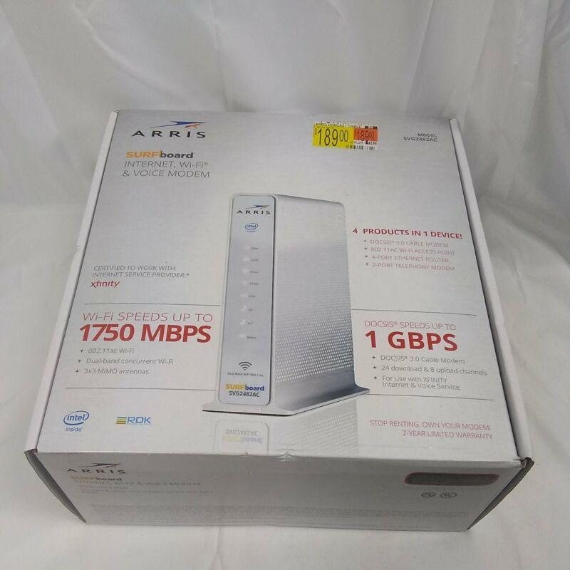 ARRIS SVG2482AC 1750 Mbps 4 Port Voice Modem