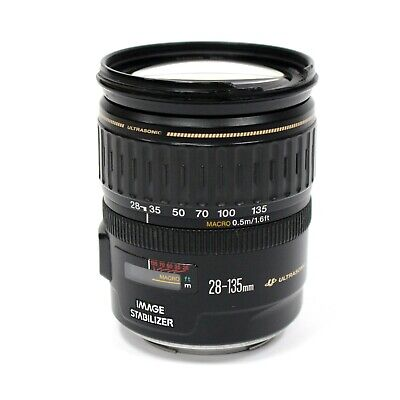 Canon EF 28-135mm f/3.5-5.6 IS USM Zoom Lens | Please read