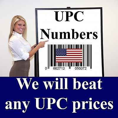 1000 Upc 1000 Upc Barcode Numbers - Read This Before Buying Fake Upc Numbers