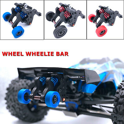 1:10 Double Wheel Wheelie Bar Assembled For TRAXXAS EREVO E-Revo 2.0 TRX86086-4