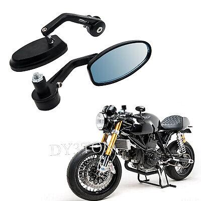 2X MOTORCYCLE MOTORBIKE BAR END MIRRORS CUSTOM FOR TRIUMPH SPEEDMASTER