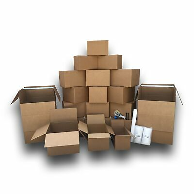 2 Room Wardrobe Kit 22 Moving Boxes Plus Packing Supplies 110 Value