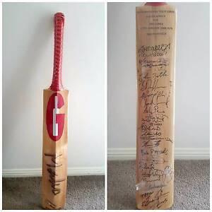 Autograph Cricket bats - Full Size Bracken Ridge Brisbane North East Preview