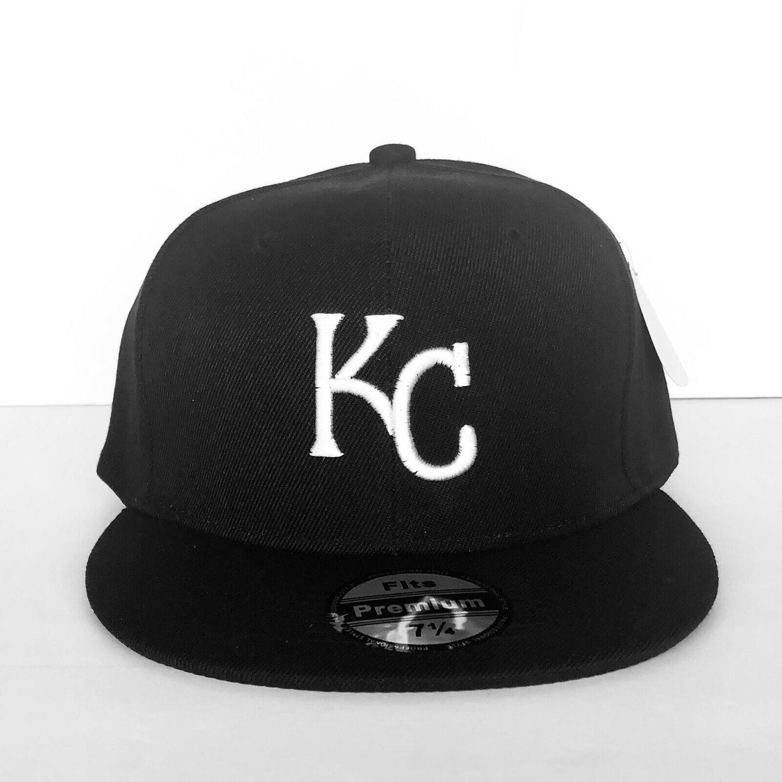 NEW Mens Kansas City Royals Baseball Cap Fitted Hat Multi Si