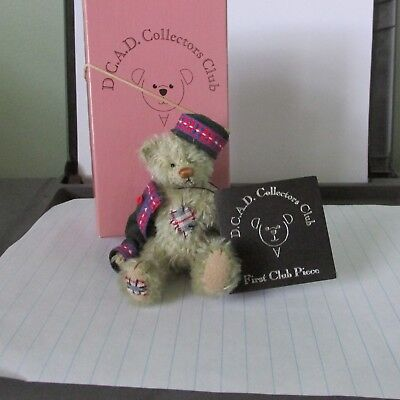DEB CANHAM Artist Designs First Club Piece   BINKER   New with tag and box