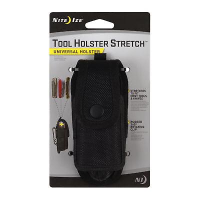 Nite Ize Tool Holster Stretch Universal Multi-toolflashlight Holder Wbelt Clip