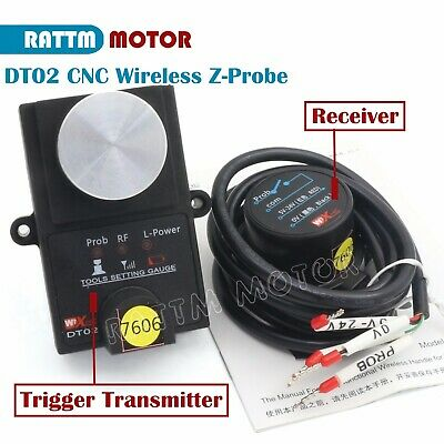 Height Detection Wireless Cnc Mach3 Tool Set Gauge Automatic Tool Probereceiver