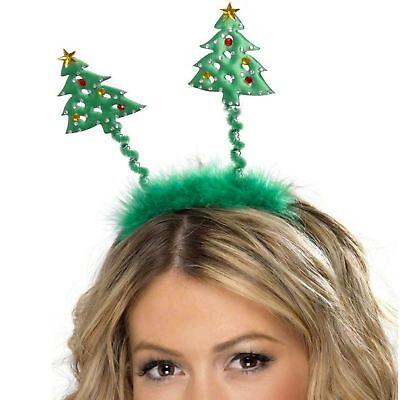 sbaum Stirnband Warnung Bopper-Hut Festlich Party Xmas (Weihnachtsbaum Stirnband)