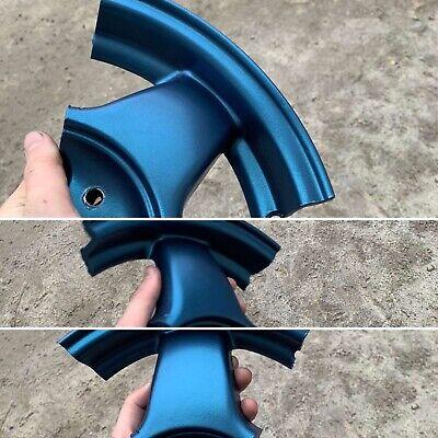 Matte Denim Metallic Dark Teal Powder Coating Fit Tribo 1lb450g