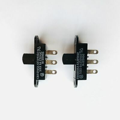 Pkg Of 2 Ck Slide Switch Spdt 6a 125250vac