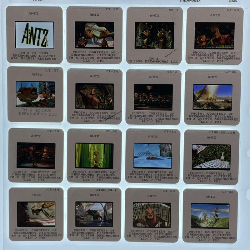 Antz Movie 35mm Slides 1998 Press Kit Publicity Promo Lot of 16