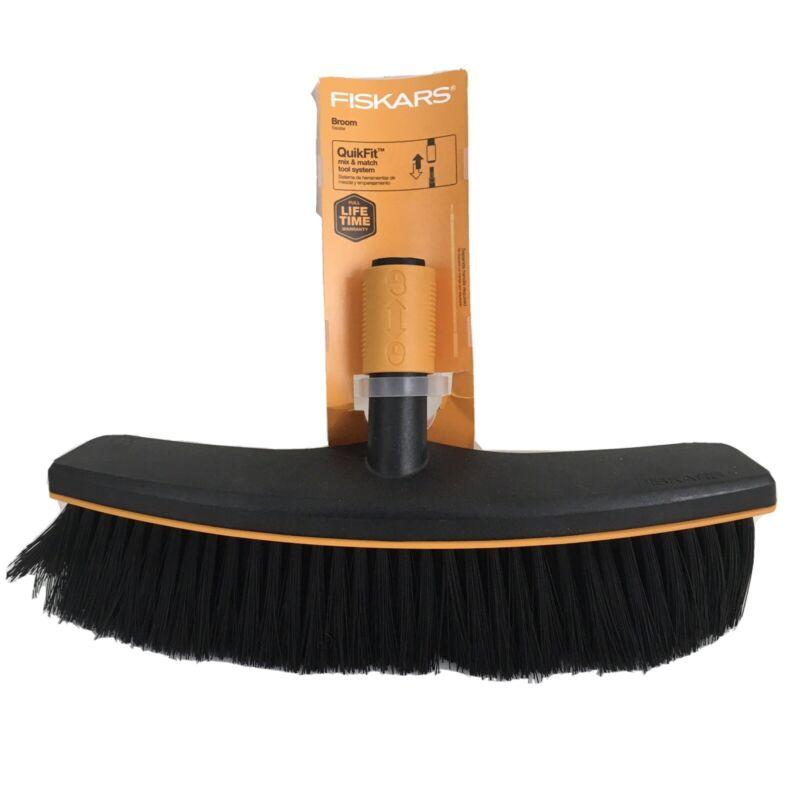 Fiskars Quik Fit Broom Head Black Ourdoor
