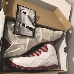 Air Jordan 10 Cherry - Red Steel 2005