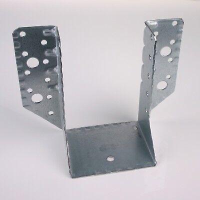 10x Balkenschuhe verzinkt 80x120 mm Balkenschuh Holzverbinder aussenliegend