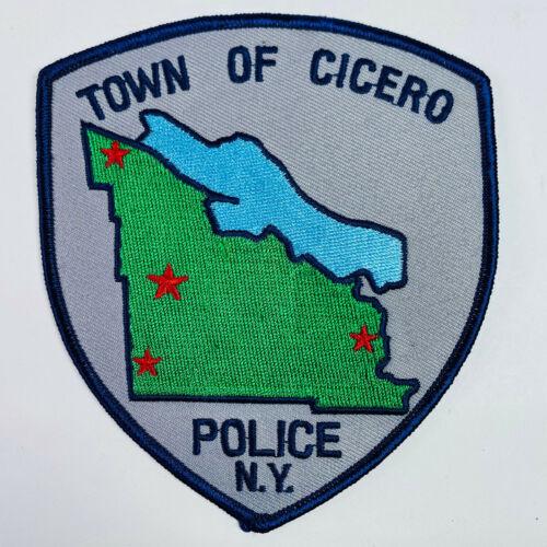 Cicero Police New York NY Patch (A5)
