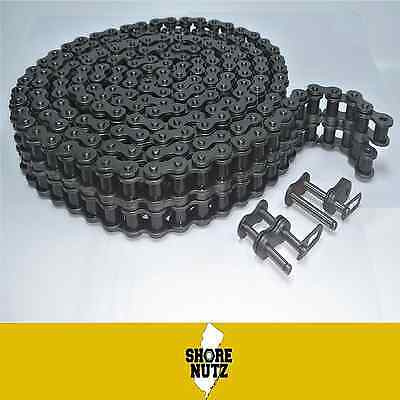 60-2 60-2 Duplex Roller Chain 10ft W2 Master Links 60-2r 34 Pitch