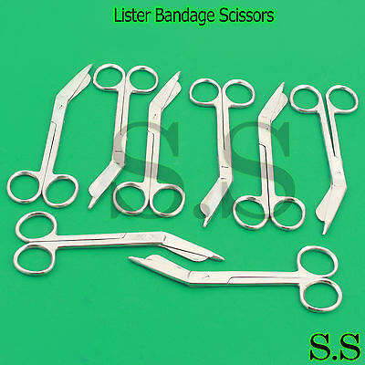 12 Lister Bandage Scissors 5.5 Surgical Medical Instruments Nurse Emt Rescue