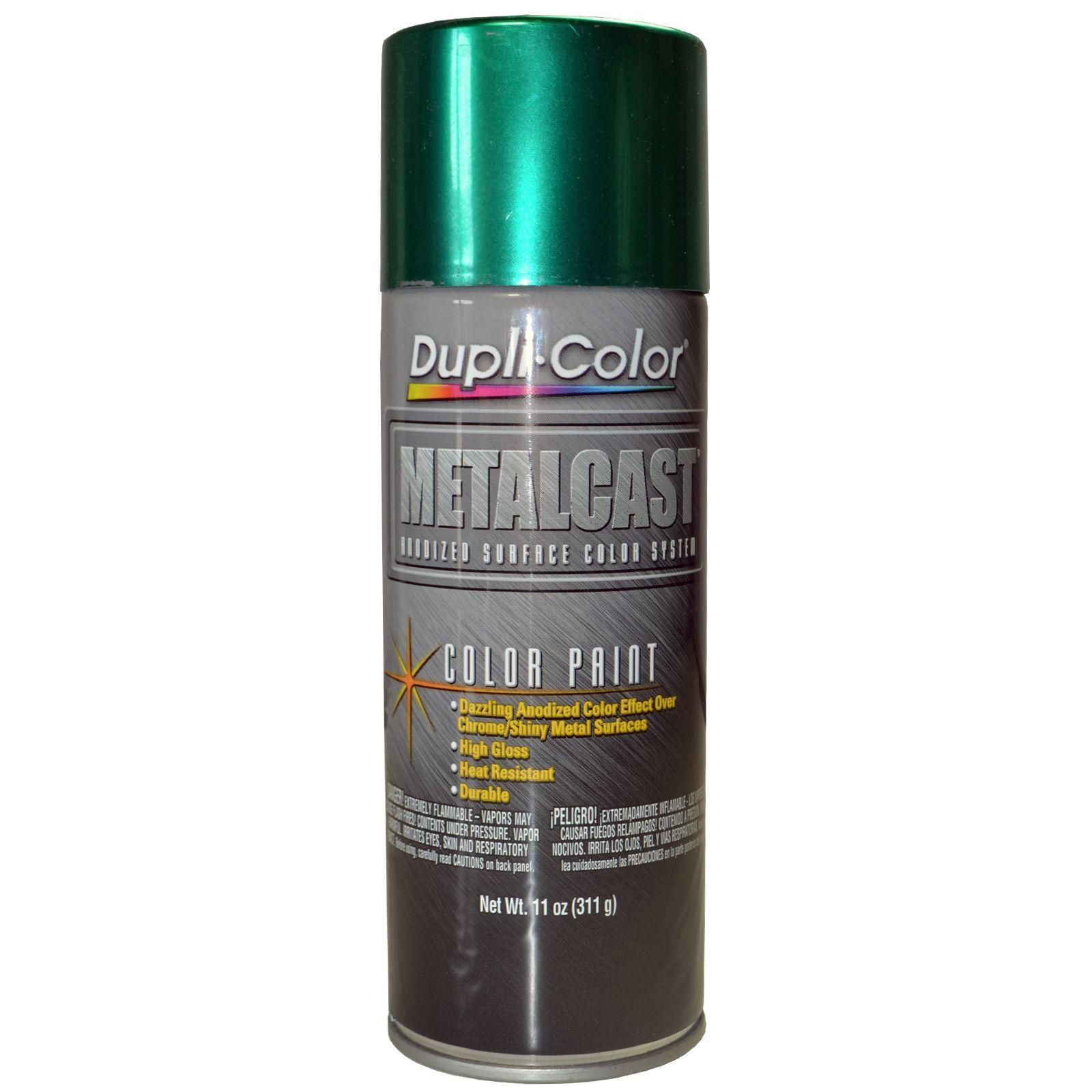 Dupli Color Mc201 Green Metalcast Anodized Spray Aerosol Paint 11 Oz Can Ebay