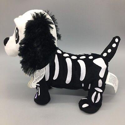 GEMMY Animated Skeleton Dog Black White Dances Halloween Thriller Music 10