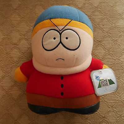 South Park Cartman soft toy with tags 1998 vintage comedy central collectable