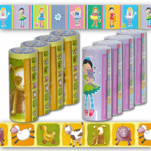 4x Kinder Bordure Selbstklebend Tapete Borte Fur Kinderzimmer