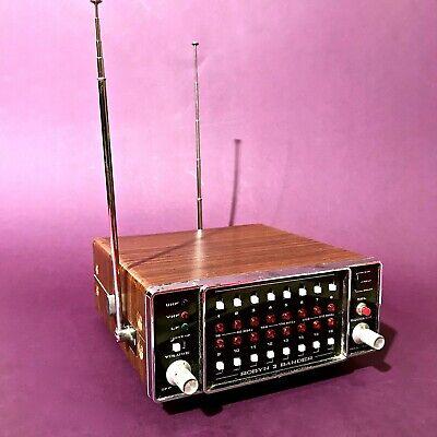 1970 RADIO JAPAN SCANNER ROBYN 3-BAND MODEL 3000 collectible vintage transistor segunda mano  Embacar hacia Argentina
