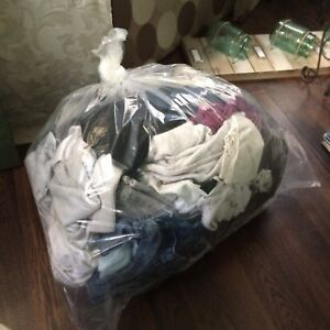 bag of girl clothes