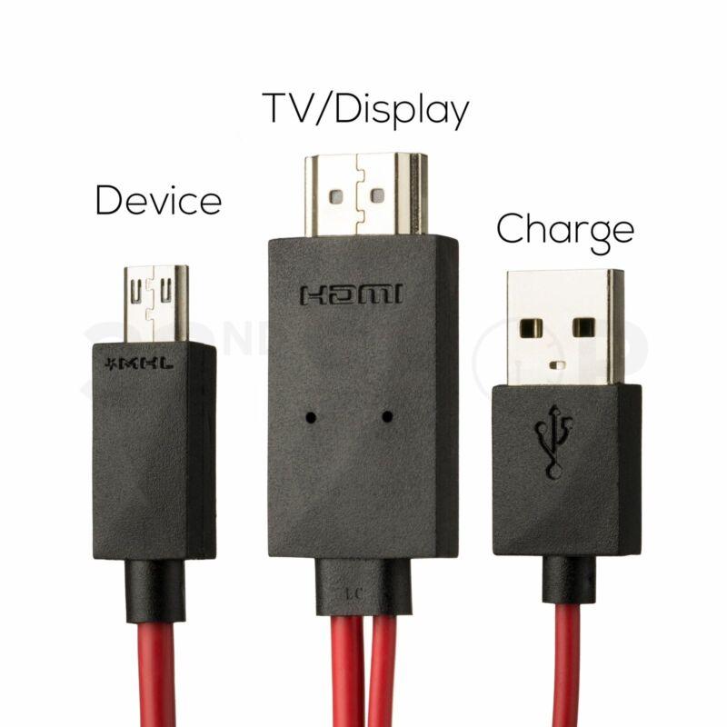 Micro+USB+11+Pin+MHL+-+HDMI+1080P+HDTV+Adaptor+Cable+Lead+%28Samsung+Compatible%29