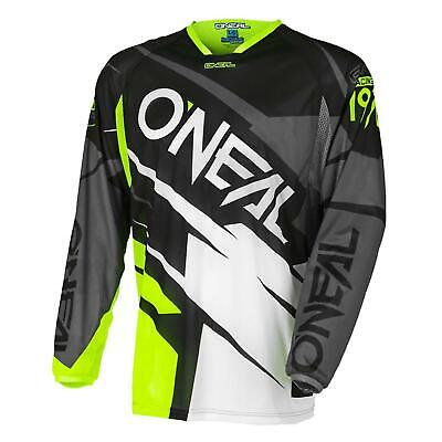 ONeal Hardwear Jersey Jag Schwarz Gelb Moto Cross Enduro Shirt Enduro Trikot