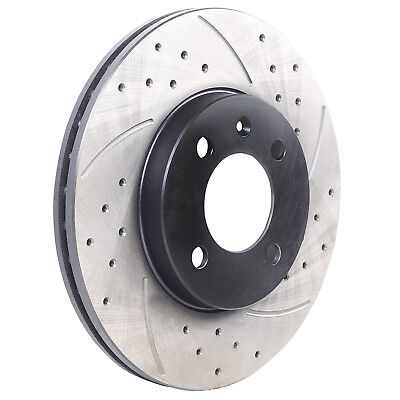 Ibiza 1.4 TDi Front Drilled Grooved Brake Discs 02-06