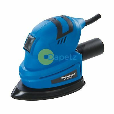 Compact Detail  Sander With Orbital Action & Palm-Shaped Soft Grip 135W - Orbital Action Sander