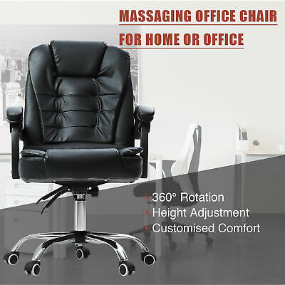 Ergonomic Reclining Massage Office Computer Chair Swivel Gaming Adjustable