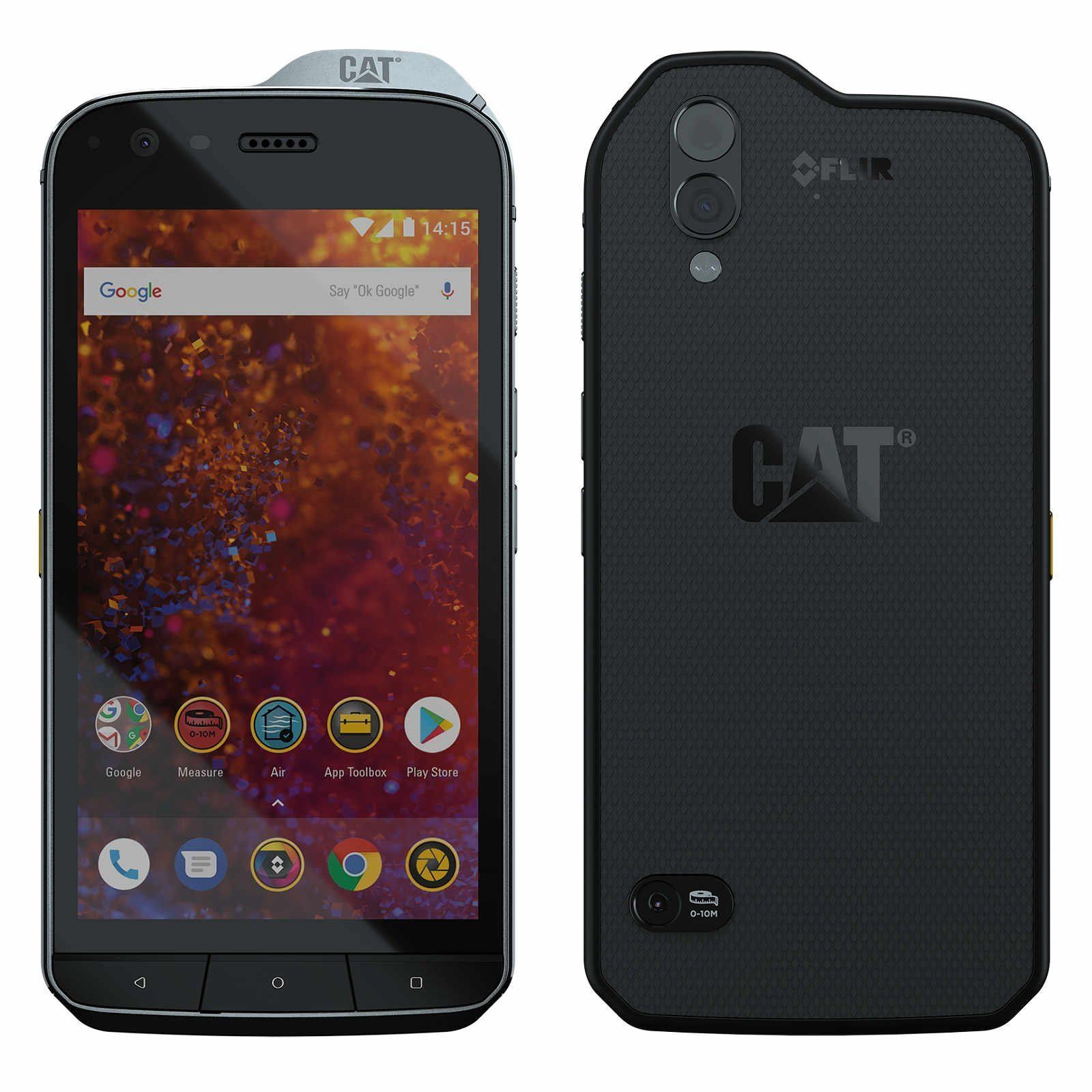 "Caterpillar CAT S61 Rugged Waterproof (FACTORY UNLOCKED) 5.2"" HD 64GB 4GB RAM"