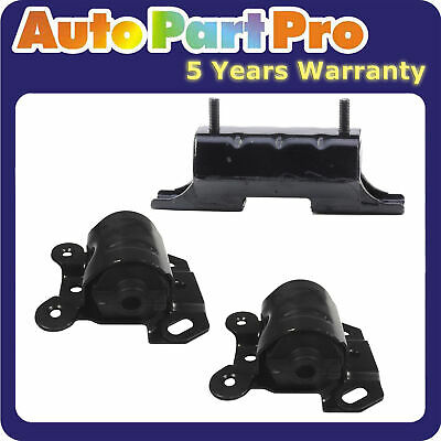 For Chevy Astro GMC Safari 4.3L 4WD 96-05 Engine Motor & Trans Mount Set of 3pcs