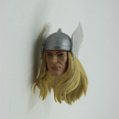 """Marvel Legends 6"""" Classic THOR Head 80 Years Anniversary ZY75"""