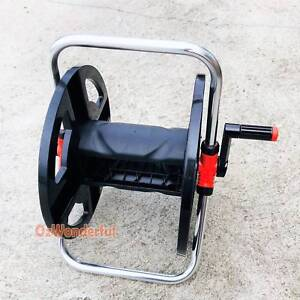 Portable Water Hose Storage Garden Hose Reel Rolls 45M 12mm Hose Epping Whittlesea Area Preview